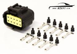 10-Pin Mazda RX7 S6-8 Oil Metering Pump Connector
