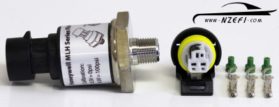 100 PSI Honeywell Oil Fuel Pressure Sensor with Connector