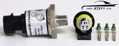 150 PSI Honeywell Oil Pressure Sensor with Connector