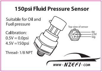 150psi BL honeywell 150 psi oil pressure sensor nzefi performance tuning pressure transducer wiring diagram at mifinder.co