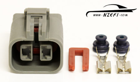 2-Pin Alternator Connector - Common Nissan etc (Hitachi and Mitsubishi branded alternators)