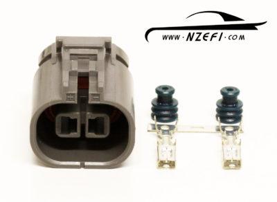 2-Pin Nissan Fuel Pump Cradle Connector - R32 GTR, R33, S14