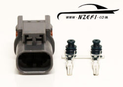 2-Pin Nissan S13 SR20DET Knock Sensor Sub-Harness Connector (Sensor Side)