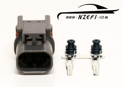 2-Pin Nissan S13 SR20DET Knock Sensor Sub-Harness Connector (Sensor Side)