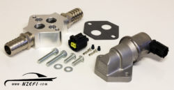 2-Wire Idle Speed Solenoid Kit with Remote Mount and Straight Barb Fittings