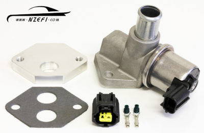 2-Wire Idle Speed Solenoid including Weld-on Flange Connector and Gasket