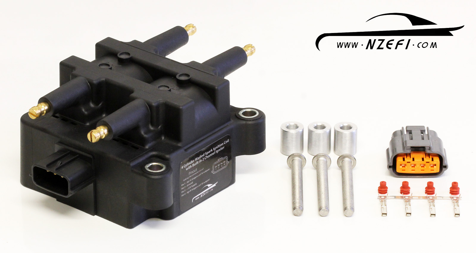 4 Cylinder Wasted Spark Ignition Coil With Built In Igniter