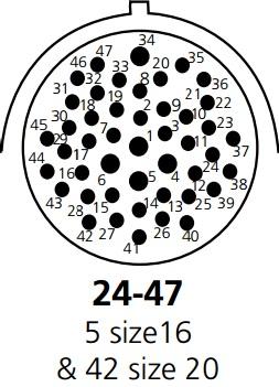 47 Cavity Connector