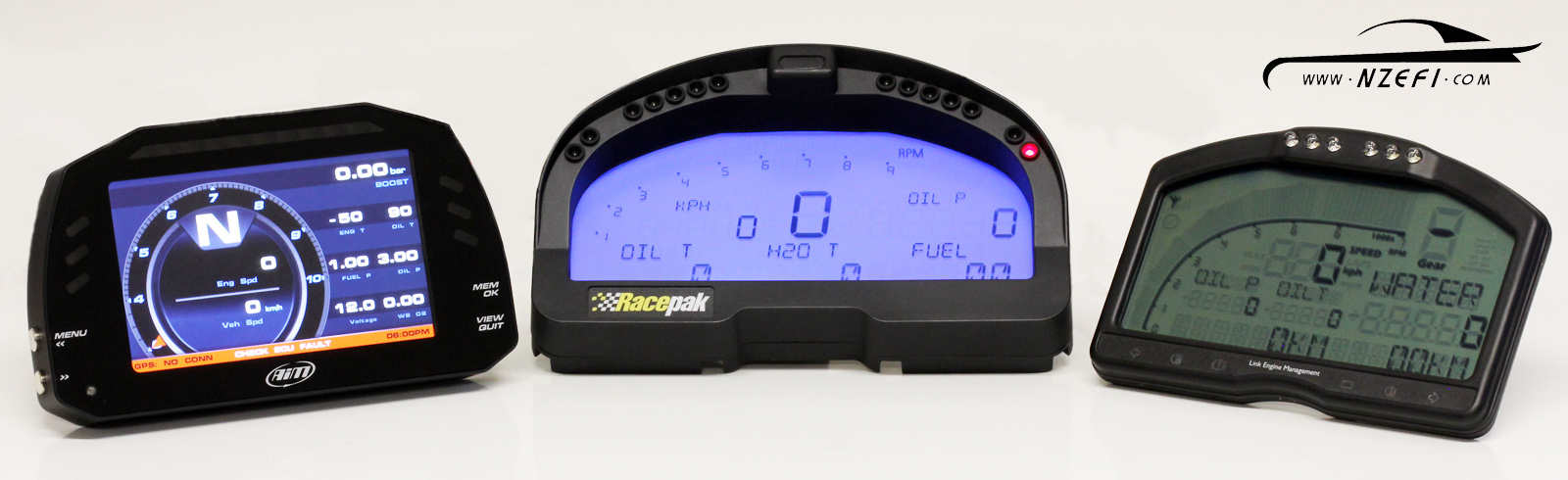 affordable display-only digital-dash shootout