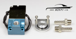 Boost Solenoid with Rubber Mount - High Flow Version