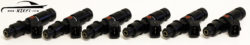 Bosch 1000cc Direct Fit Fuel Injector Kit - Nissan Skyline R33 R34 with Top Feed Conversion