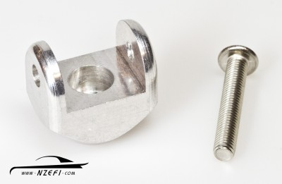 Clevis (Clamp, Mount) for Fuel Rail Extrusion