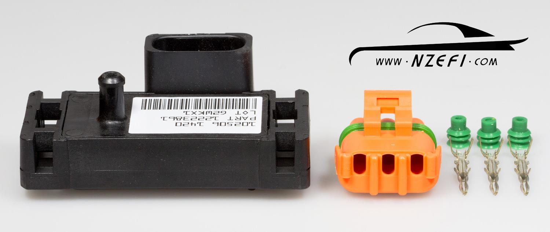 delco 3 0 bar map sensor with plug