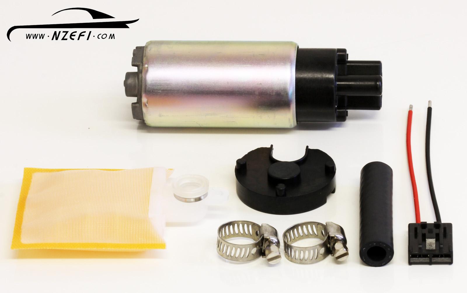 Fuel Pumps Nzefi Performance Tuning And Development Gtr Filter Denso 38mm Universal Efi Pump 145 Lph At 3 Bar