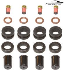 Fuel Injector Service Kit - Nissan Pulsar RNN14 GTi-R, Silvia 180SX CA18DET etc