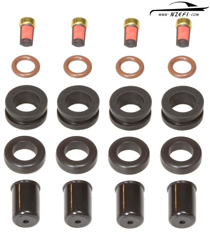 Fuel Injector Service Kit – Nissan GTi-R SR20DET, CA18DET on