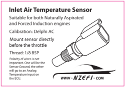 Inlet Air Temperature Sensor 1/8 BSP