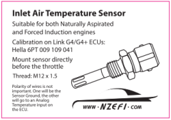 Fast Response IAT Sensor – R32-34 Skyline GTR Specific