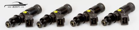 Injector Kit 4Cyl Bosch 1000cc Top Feed Direct Fit Nissan CA18DET and GTiR SR20DET