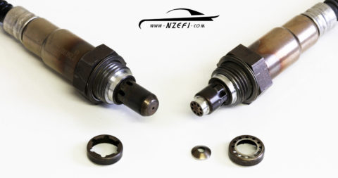 Bosch LSU4.2 and LSU4.9 Sensors - Outer tube removed