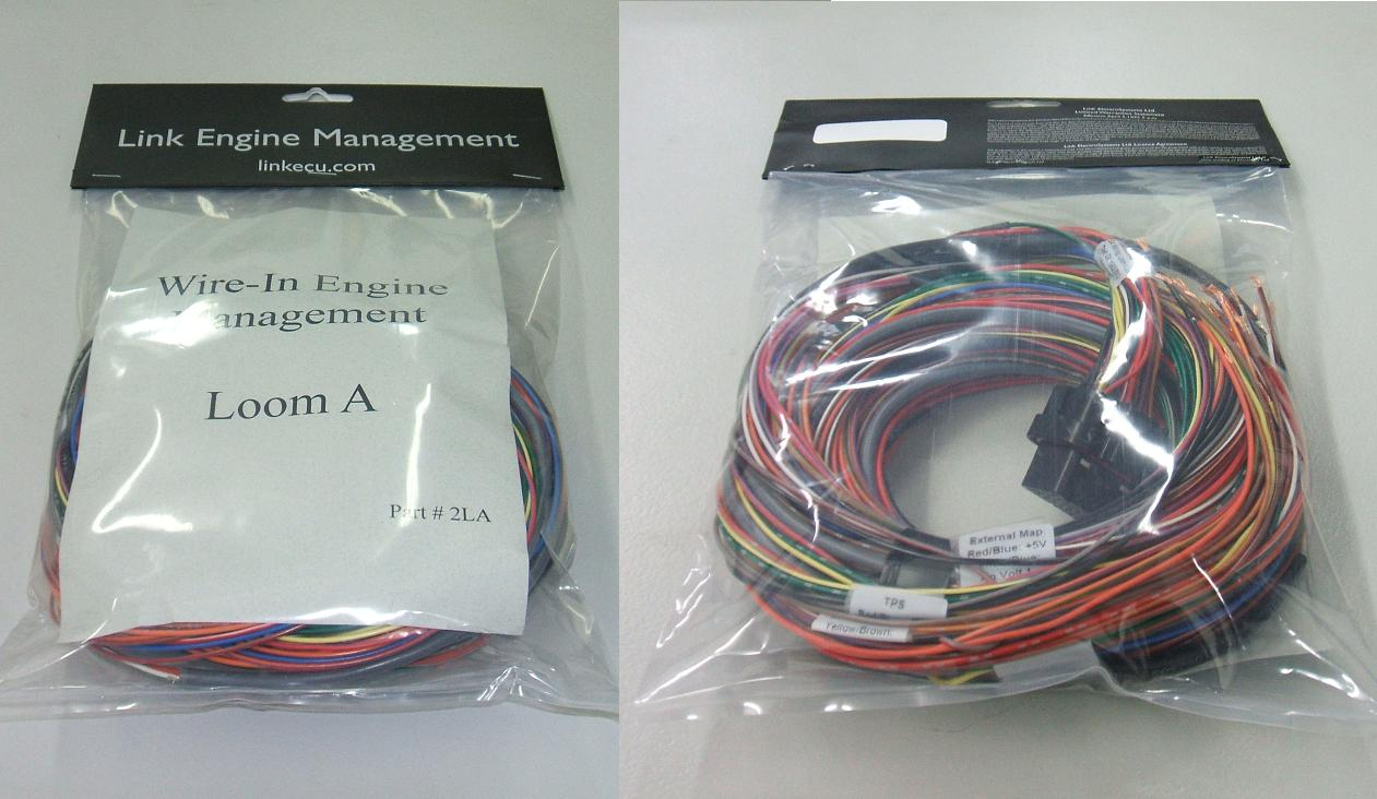 Link G4 Wiring Loom A 25 Metre Nzefi Wire Harness Management 25m