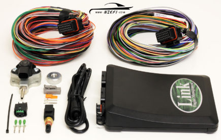 Link G4+ Fury Essentials Package with 1.2 Bar MAP Sensor and 2.5m Looms A and B