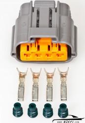 Mazda FD RX7 4-Pin Throttle Position Sensor (TPS) Connector