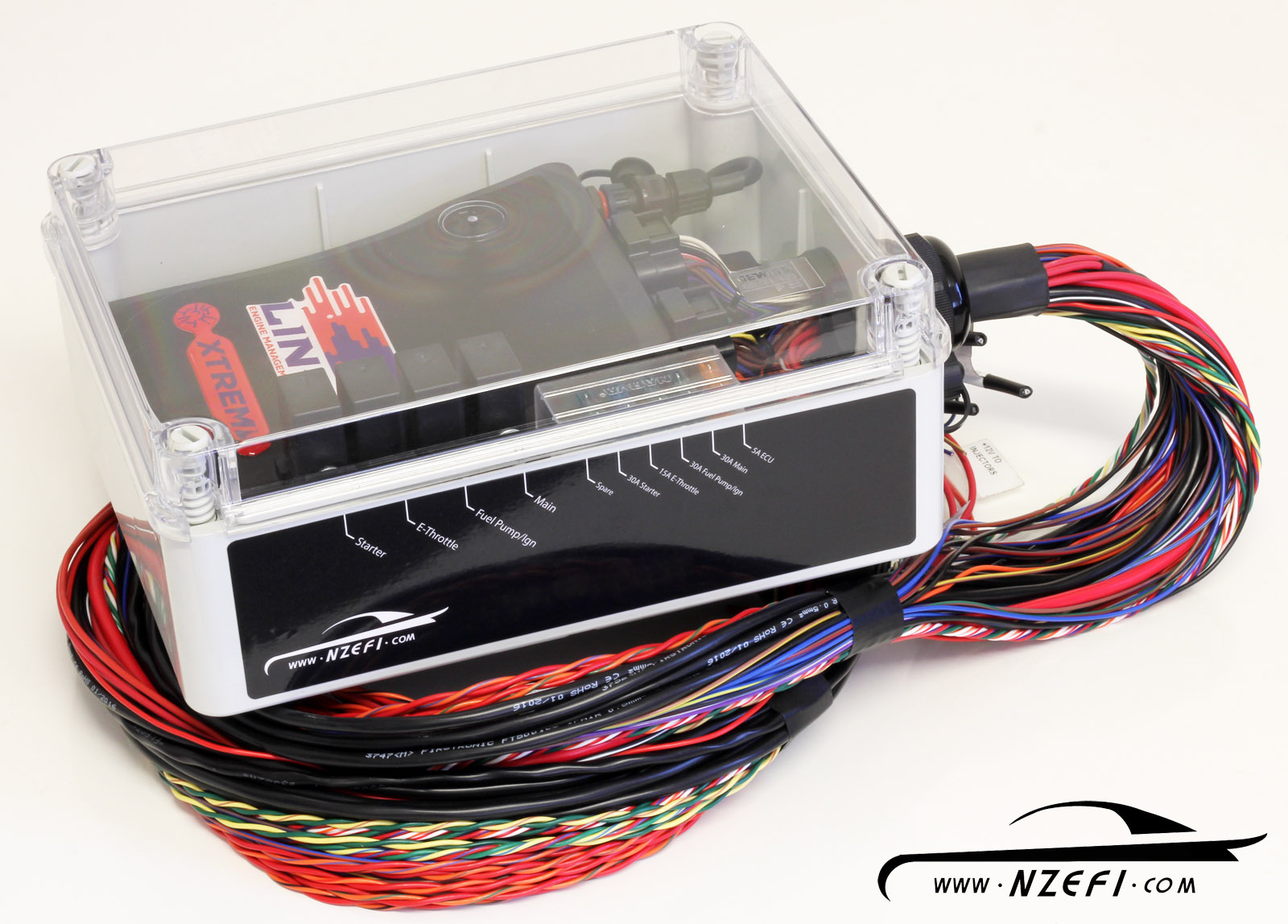 nzefi link g4 68 pin ecu water resistant installation kit wt easy rh nzefi com wiring harness kit mazda cx9 wiring harness kits for harley