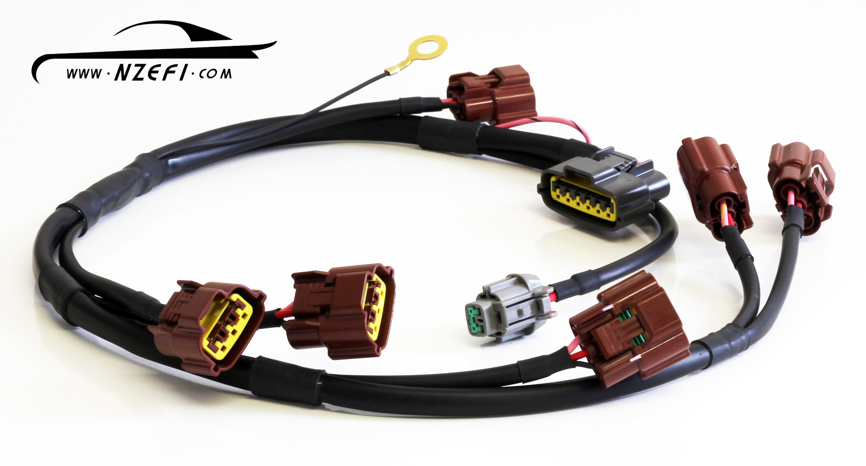 NZEFI Nissan Skyline R33 Series 1 Ignition Coil Sub Harness nissan skyline r33 s1 coil harness rb25det nzefi performance wiring harness news at couponss.co