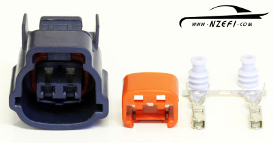 Nissan 2-Pin Idle Air Regulator Connector - Blue