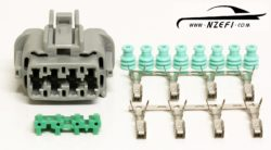 Nissan R33 R34 RB25DET and S14 S15 SR20DET Injector Harness Connector (Engine Loom Side)