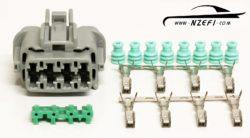 Nissan R33 R34 RB25DET and S14 S15 SR20DET Injector Harness Connector (Engine Loom Side)