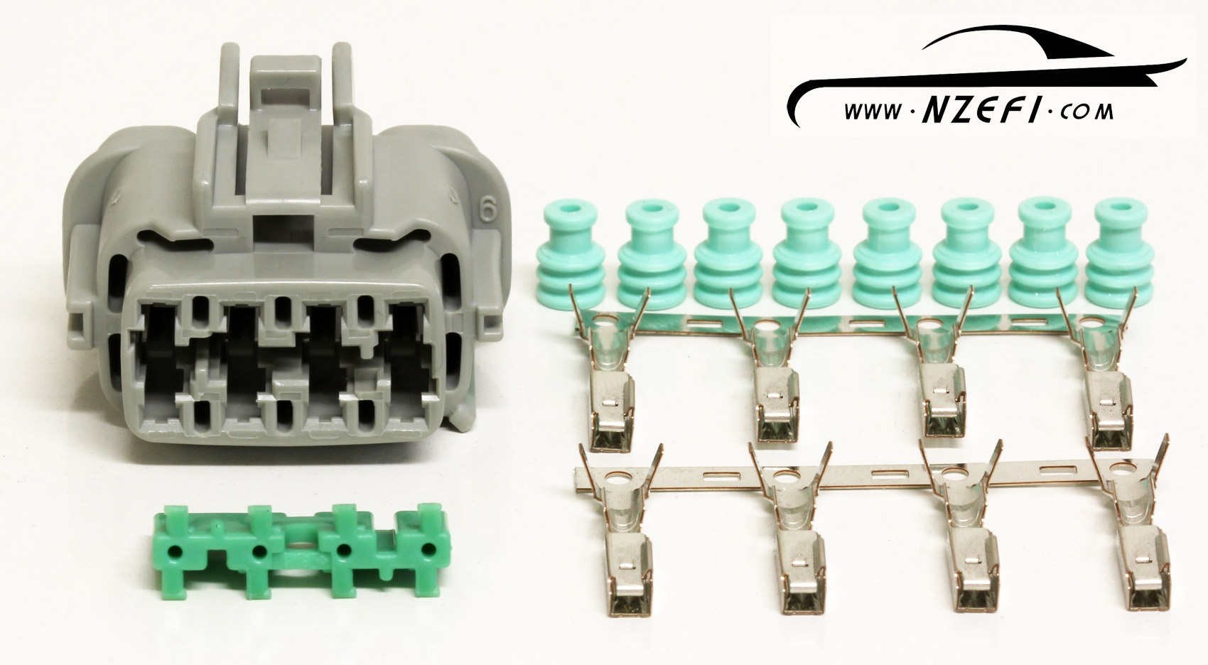 Nissan R33 R34 RB25DET and S14 S15 SR20DET Injector Harness Connector Engine Loom Side nissan rb25det & sr20det injector harness connector (engine loom s14 rb25 wiring harness at mifinder.co