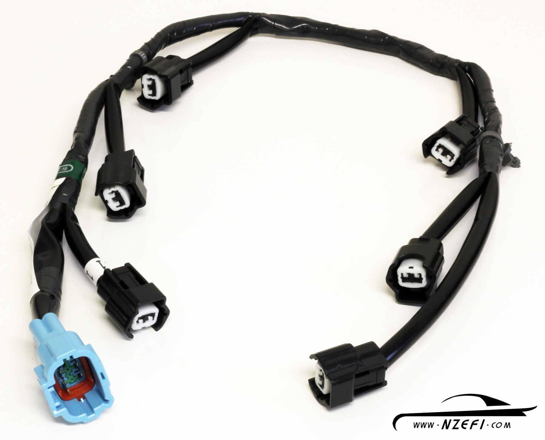 Nissan R33 S2 RB25DET Fuel Injector Wiring Sub harness r33 series 2 rb25det nissan skyline injector harness nzefi
