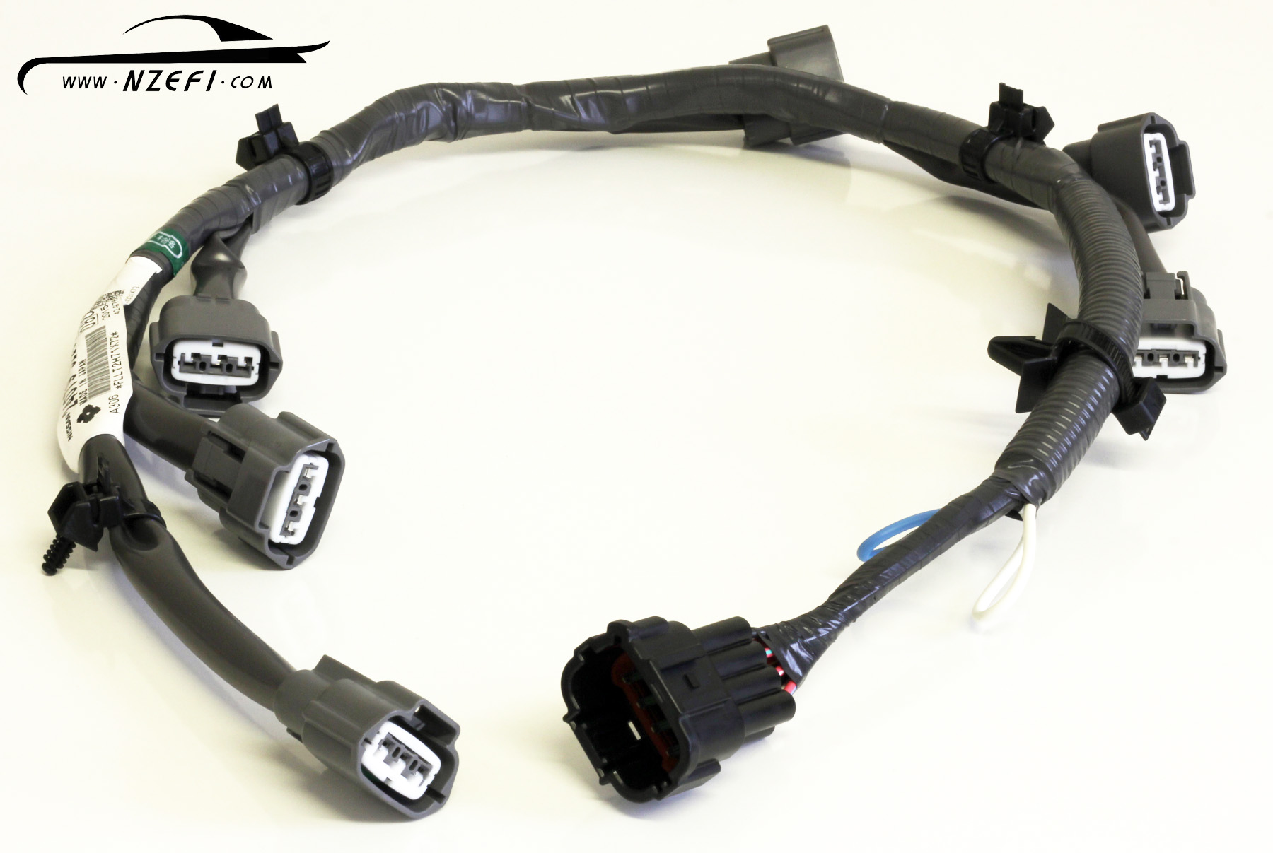 Nissan R34 RB25DE and RB25DET Coil Pack Harness Genuine Nissan nissan skyline r34 neo ignition coil harness rb25de(t) nzefi rb25det neo wiring harness at gsmportal.co