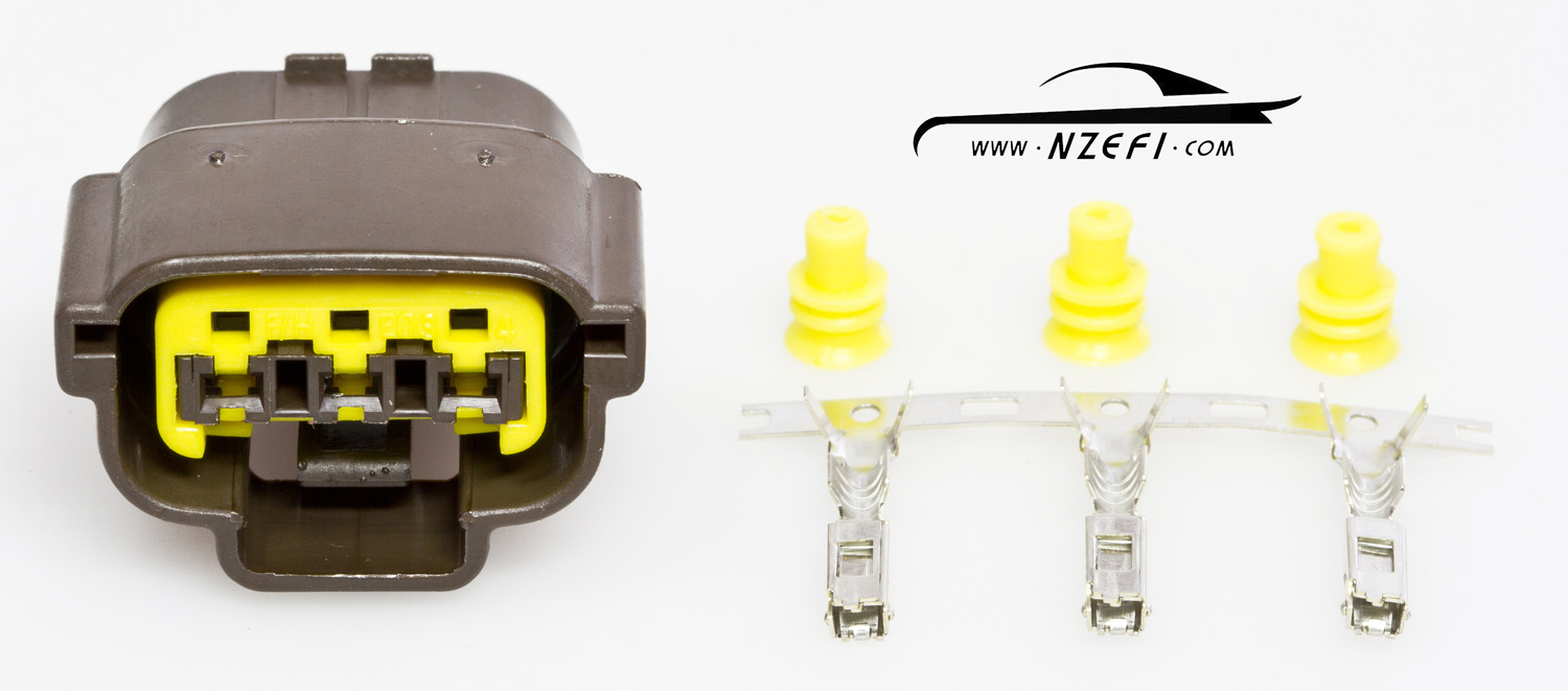 Nissan 3-pin Coil Connector (RB20 / RB25 S1 / RB26)