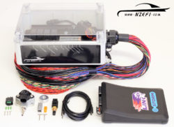 Nissan VQ35DE Engine Management Package with Link G4 Storm Black ECU and Water Resistant Easy Wire Kit (Marine)