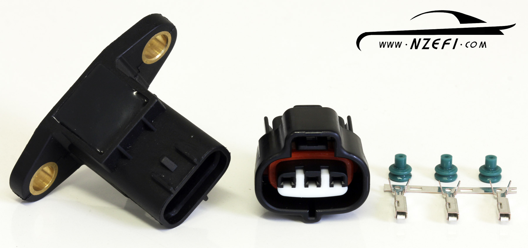 omni 3 bar map sensor with connector