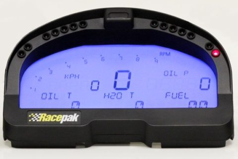 RacePak IQ3 Dash