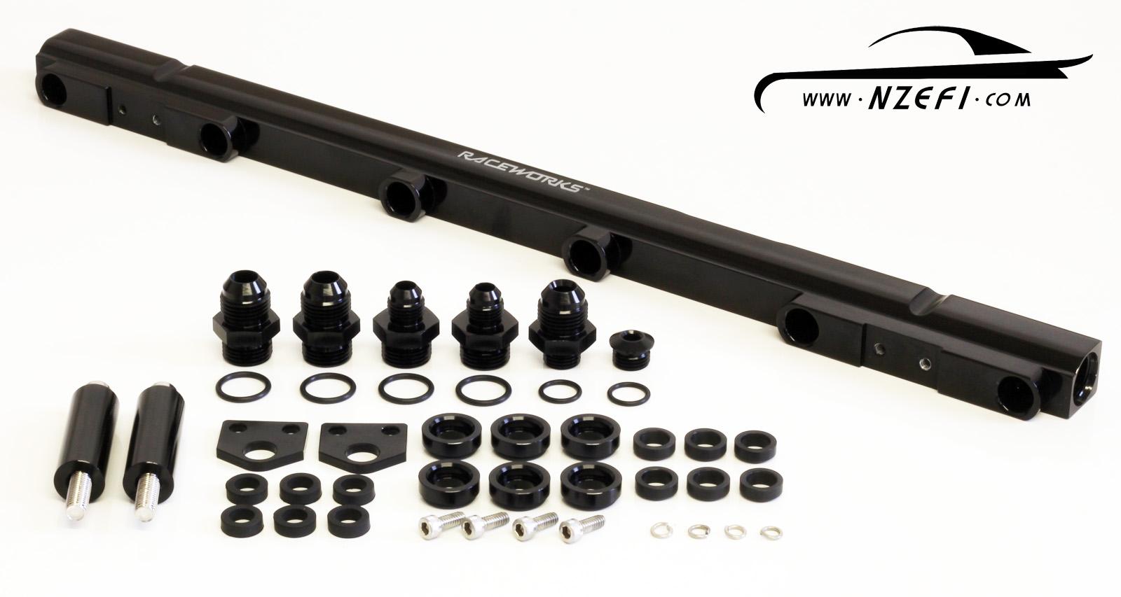 Raceworks Toyota Supra Jza80 2jz Gte Top Feed Fuel Rail Kit Nzefi Wiring Harness Supera