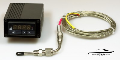 Single Channel Exhaust Gas Temperature Amplifier, Display and Probe (Thermocouple)