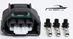 Subaru 3-Pin Throttle Position Sensor (TPS) Connector