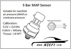 5 Bar Map Sensor