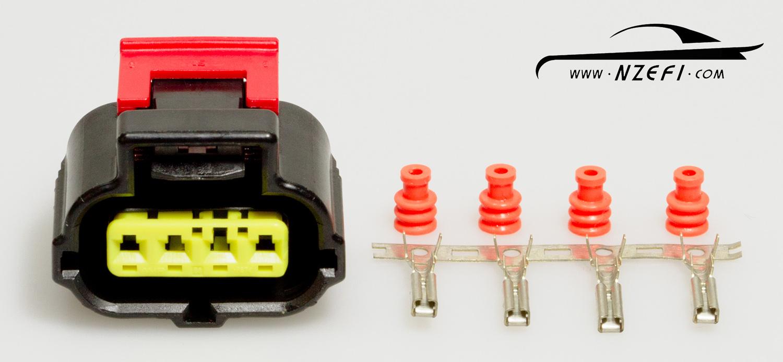 Toyota 1JZ 2JZ 1UZ 3SGE Throttle Position Sensor Plug toyota tps connector 1jzgte 2jzgte 1uzfe 3sge 4age 20v throttle position sensor wiring harness at couponss.co