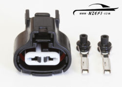 Toyota 2-pin Intake Air Temp Sensor Connector - 20V 4AGE Blacktop, 1FZ-FE etc