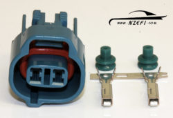 Toyota 2-pin VSV Connector - Blue