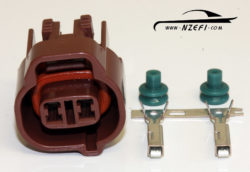 Toyota 2-pin VSV Connector - Brown