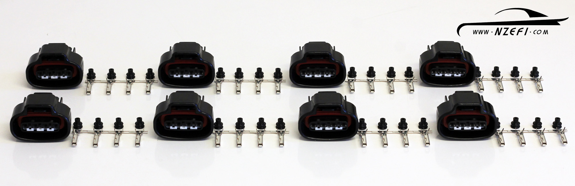 Toyota 1UZ VVTi 4-pin Ignition Coil Connector Set