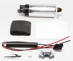 Walbro 500hp In-tank Fuel Pump with Early Subaru Fitting Kit