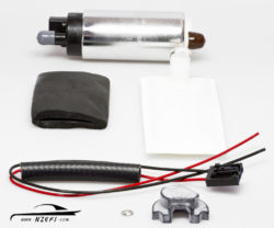 Walbro 500hp In-tank Fuel Pump with Late Nissan Fitting Kit